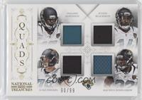 Denard Robinson, Justin Blackmon, Luke Joeckel, Maurice Jones-Drew #/99