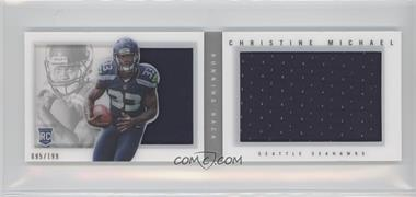 2013 Panini Playbook - Rookie Booklets - Silver #203 - Christine Michael /199