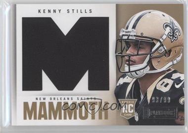 2013 Panini Playbook - Rookie Mammoth Materials #18 - Kenny Stills /99