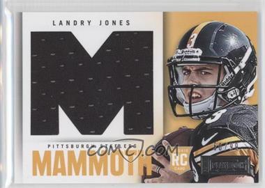 2013 Panini Playbook - Rookie Mammoth Materials #20 - Landry Jones /99