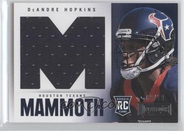 2013 Panini Playbook - Rookie Mammoth Materials #5 - DeAndre Hopkins /99