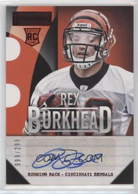2013 Panini Playbook - Signatures - Red #178 - Rex Burkhead /299