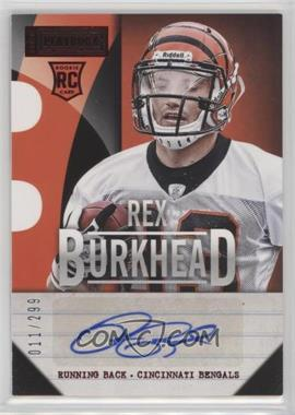 2013 Panini Playbook - Signatures - Red #178 - Rex Burkhead /299