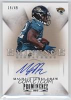 Maurice Jones-Drew #/49