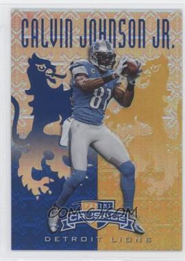 2013 Panini Rookies & Stars - Crusade - Blue #6 - Calvin Johnson Jr.