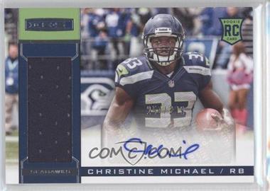 2013 Panini Rookies & Stars - Rookie Materials - Signature [Autographed] #203 - Christine Michael /299
