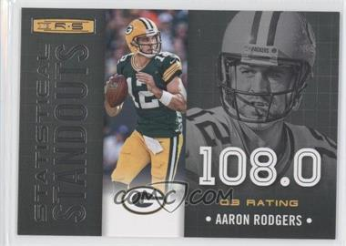 2013 Panini Rookies & Stars - Statistical Standouts #10 - Aaron Rodgers