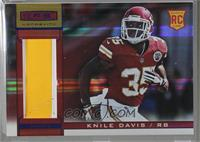 Rookie Materials - Knile Davis [Noted] #/25