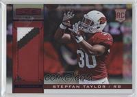 Rookie Materials - Stepfan Taylor /25