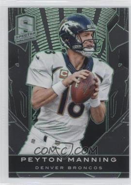 2013 Panini Spectra - [Base] - Embossed Green #31 - Peyton Manning