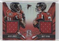 Matt Ryan, Julio Jones #/25