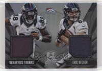 Demaryius Thomas, Eric Decker #/99