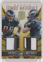 Matt Barkley, Zach Ertz #/10