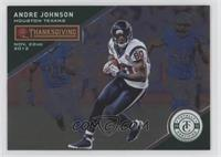 Thanksgiving Day - Andre Johnson #/5