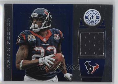 2013 Panini Totally Certified - Materials - Totally Blue #12 - Arian Foster /49