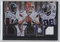 Brandon Weeden, Dez Bryant, Justin Blackmon /99