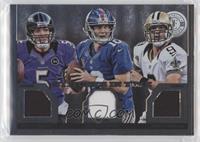 Drew Brees, Joe Flacco, Eli Manning /299