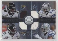 Quad - Fred Taylor, Maurice Jones-Drew, Emmitt Smith, DeMarco Murray #/49