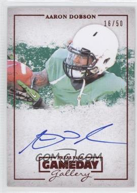 2013 Press Pass - Gameday Gallery - Red #GG-AD - Aaron Dobson /50