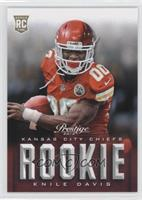 Knile Davis (short print: 00 uniform number)