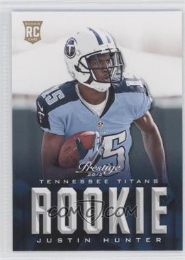 2013 Prestige - [Base] #247 - Justin Hunter