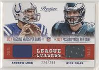 Nick Foles, Andrew Luck /299