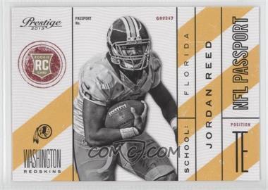 2013 Prestige - NFL Passport #37 - Jordan Reed