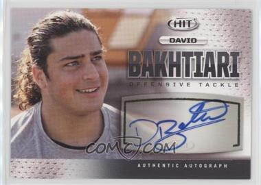 2013 SAGE Hit - Autographs - Silver #A139 - David Bakhtiari