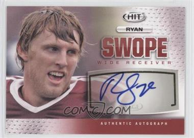 2013 SAGE Hit - Autographs #A25 - Ryan Swope