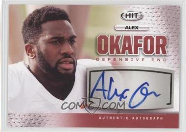 2013 SAGE Hit - Autographs #A30 - Alex Okafor
