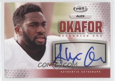 2013 SAGE Hit - Autographs #A30 - Alex Okafor