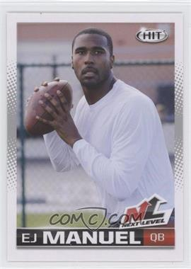 2013 SAGE Hit - [Base] #103 - EJ Manuel
