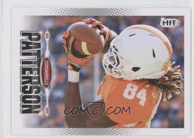 2013 SAGE Hit - [Base] #14 - Cordarrelle Patterson