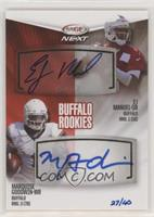 EJ Manuel, Marquise Goodwin #/40