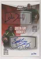 Eddie Lacy, Datone Jones #/40