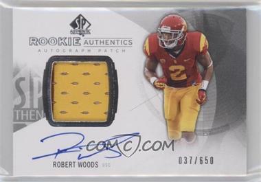 2013 SP Authentic - [Base] #152 - Rookie Patch Autographs - Robert Woods /650