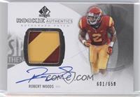 Rookie Patch Autographs - Robert Woods /650