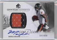 Rookie Patch Autographs - Markus Wheaton /650