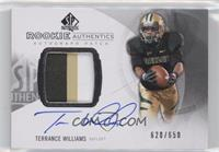 Rookie Patch Autographs - Terrance Williams /650