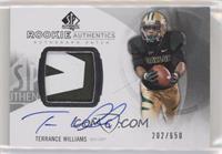 Rookie Patch Autographs - Terrance Williams #/650