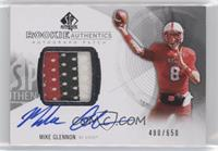 Rookie Patch Autographs - Mike Glennon /650