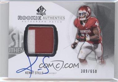 2013 SP Authentic - [Base] #168 - Rookie Patch Autographs - Kenny Stills /650