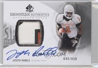 Rookie Patch Autographs - Joseph Randle /650