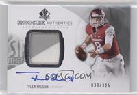 Rookie Patch Autographs - Tyler Wilson /325