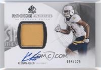 Rookie Patch Autographs - Keenan Allen #/325
