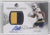 Rookie Patch Autographs - Keenan Allen /325