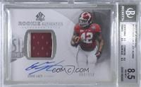 Rookie Patch Autographs - Eddie Lacy [BGS 8.5 NM‑MT+] #/650