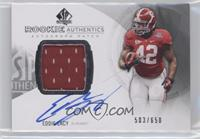 Rookie Patch Autographs - Eddie Lacy /650