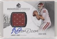 Rookie Patch Autographs - Landry Jones #/325