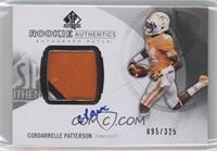 Rookie Patch Autographs - Cordarrelle Patterson /325